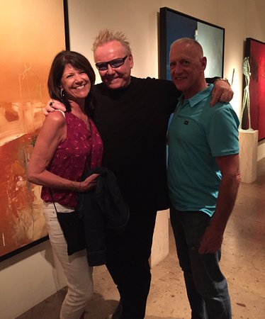 Frank Arnold Gallery: New friends, and a totally wonderful experience!
