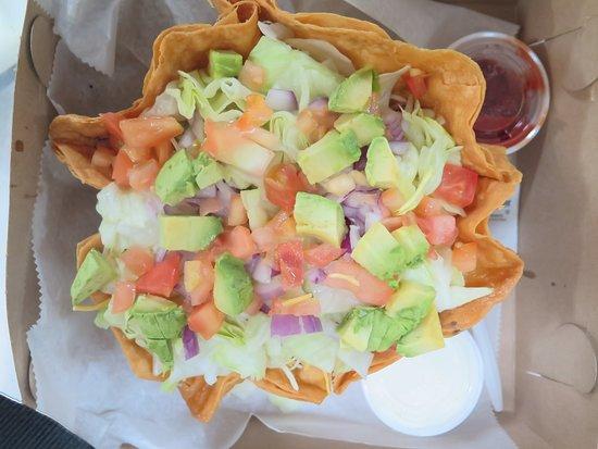 Waldwick, NJ: veggie burrito bowl add avocado