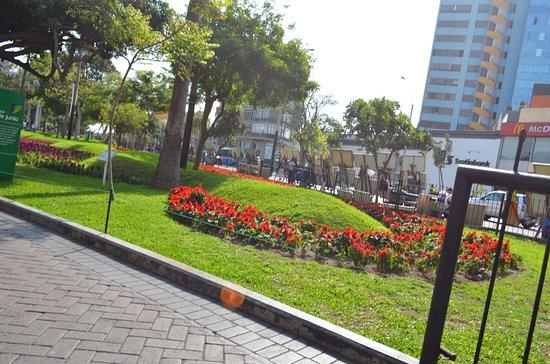 Parque Kennedy.