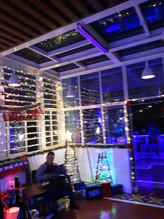 Blue Cocktails and Dreams Bar: Christmas is here