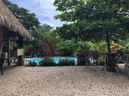 Playa Camaronal, Costa Rica: The pool area.