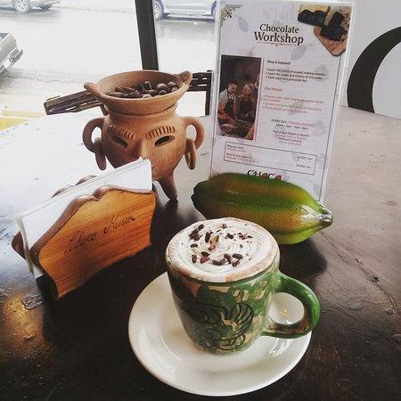 La Fortuna de San Carlos, Costa Rica: hot chocolate