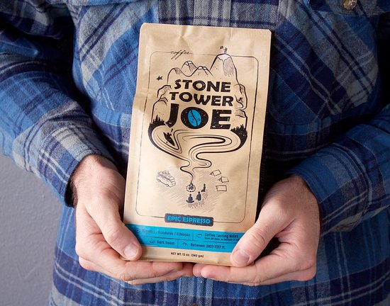 Our coffee from Stone Tower Joe - organic, fair-trade