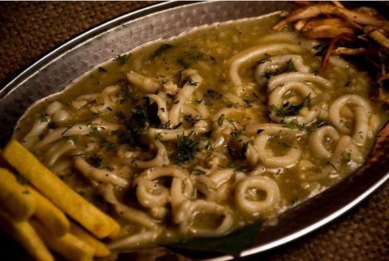 Squids Butter Garlic