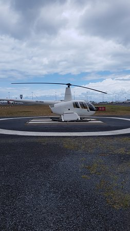 Helicopter from Cairns