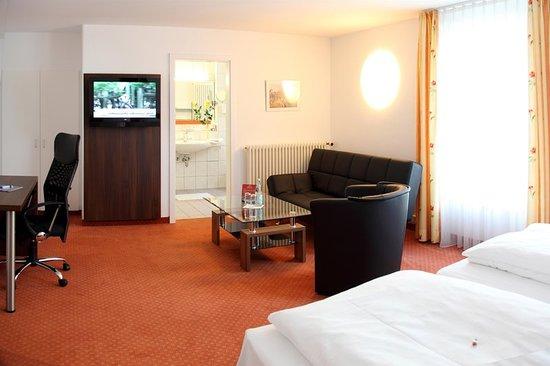 Langenau, Alemania: Guest room