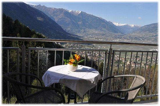 Pamoramablick direkt von Ihrem privat Balkon