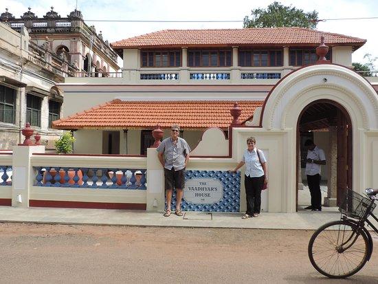 The Vaadhyar's House: Best restaurant in the village