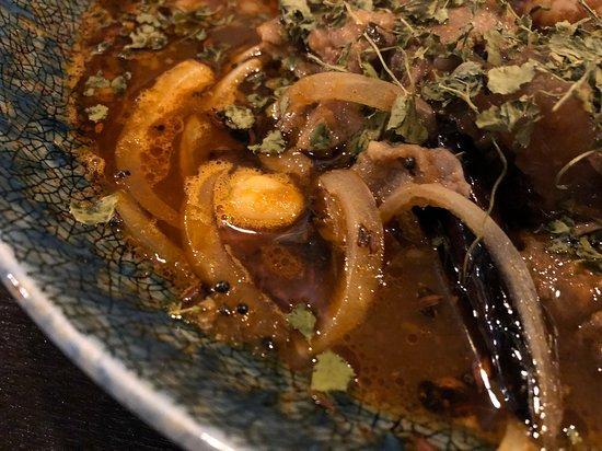 インド風カレー(牛すじ)