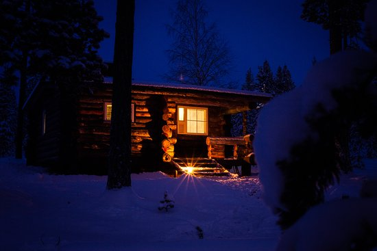 Ivalo, Finland: Finnish Sauna evening at the cabin