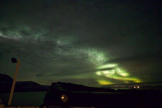 Svalbard, Noruega: Nordlichter auf einer Fjordcruise Tour