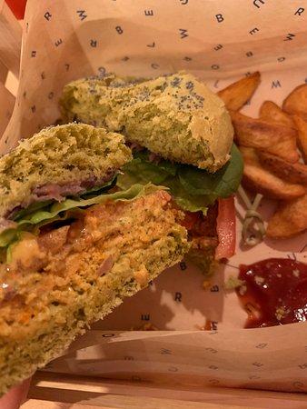 Grinch burger