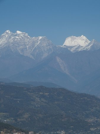 Charikot, Nepal: View from the hotel.