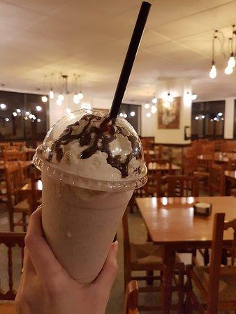 Milkshake de Chips Ahoy.