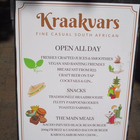 Kraakvars: Garden-fresh!