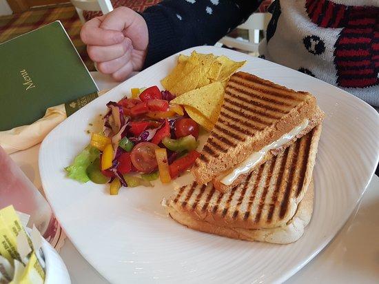 Gartocharn, UK: ham and cheese toastie