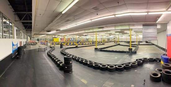"Portsmouth, VA: View of our ""Speed"" Course...you can see the ""Pro"" Course in the background. We combine them both to create ""MegaTrack!"