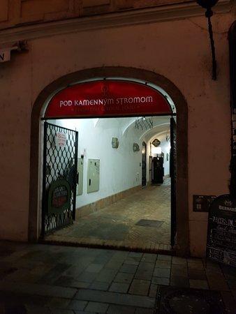 Pod Kamennym Stromom: Great pub