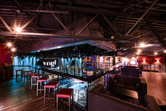 Plano, TX: A view from upstairs in Vnyl. VIP tables and bottle service available.