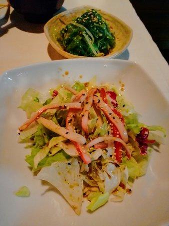 Megumi: Insalata con surimi