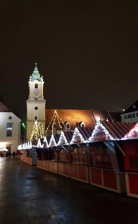Bratislava City Museum (Mestske Muzeum): Stunning at night