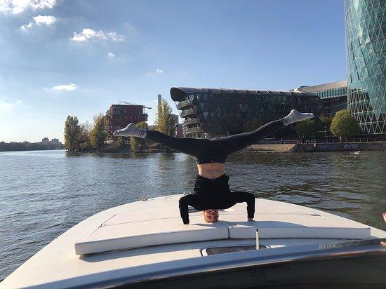 Frankfurt, Alemania: Yacht Tour