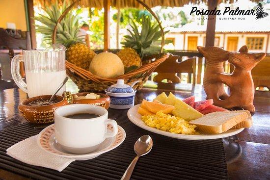 Posada Palmar: Desayuno incluido