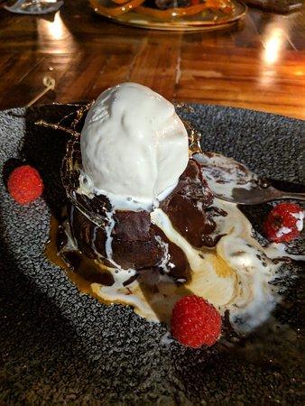 Tora México: Chocolate lava cake 🙏🎂
