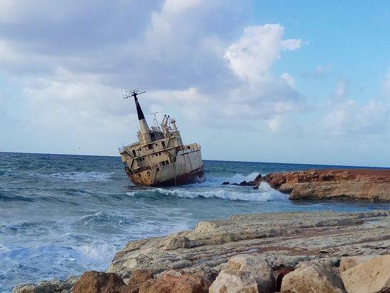 Paphos, Cypern: עצירה לתצפית לאורך הדרך