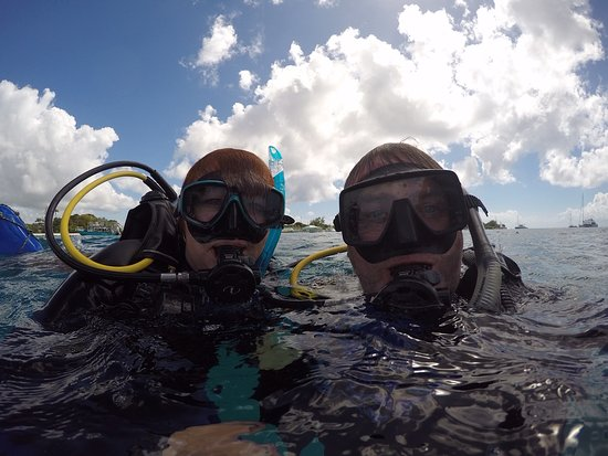 Roger's Scuba Shack: Yeah we passed the course!!
