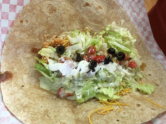 Orofino, ID: Burrito under construction