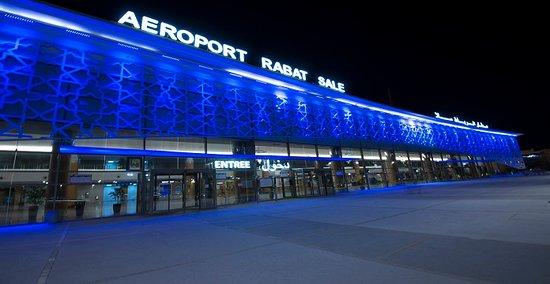 C'est l'aéroport international de Rabat Sale