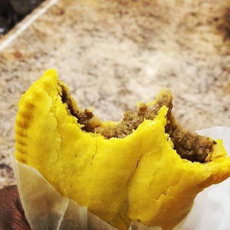 "Island Spice Jerk House: Jamaican Beef Patties. ""Spicy or mild?"""