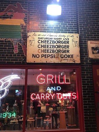 Excursion culinaire Célèbres saveurs de Chicago : Billy Goat Grill