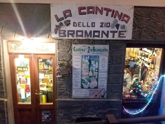 מאנארולה, איטליה: La Cantina dello Zio Bramante