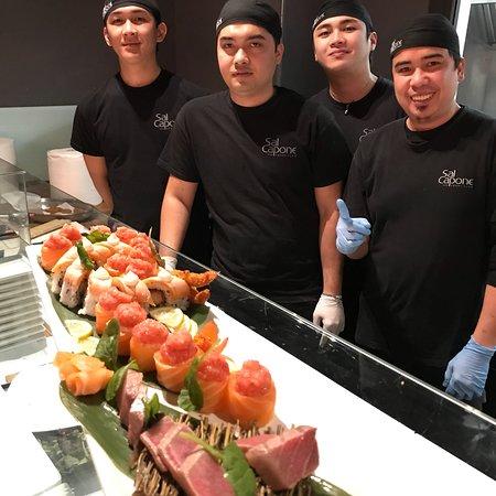 Il miglior locale di sushi a Palermo SalCapone