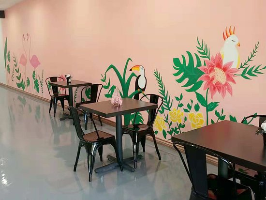 La Verne, Califórnia: tropical/brazilian mural
