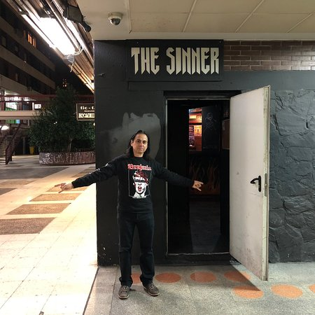 The Sinner Metal Bar
