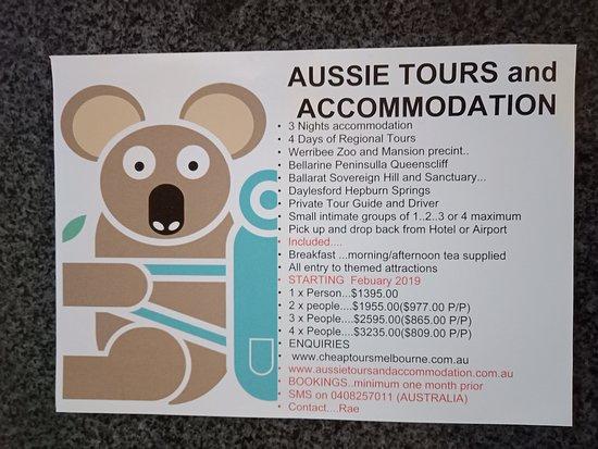 Cheap Tours Melbourne