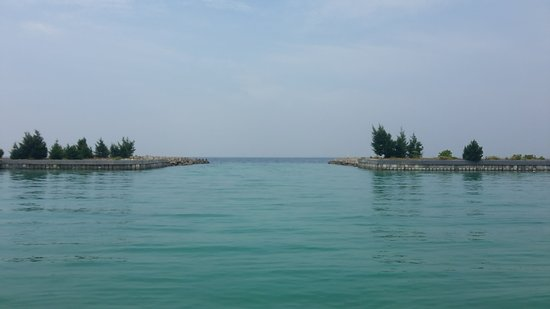 Tidung Island: It felt peaceful here.