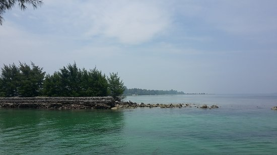 Tidung Island: Snorkeling spot.