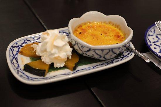 Pumpkin creme brûlée.