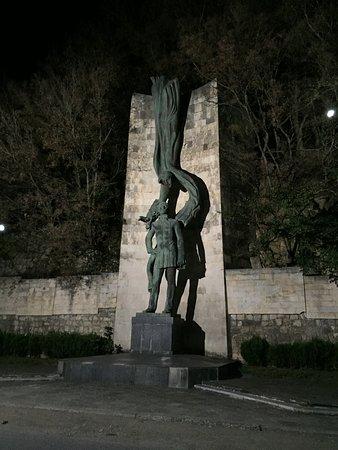 Monument to Galaktion Tabidze