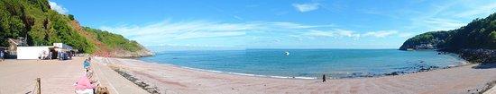 Babbacombe Cliff Railway: The beach
