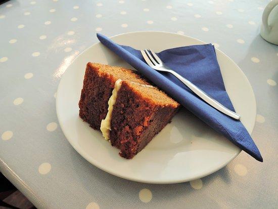 home made ginger cake