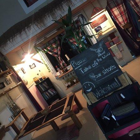 About the World: Nice restaurant in Battambang