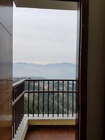 View from bedroom of Suite No. 201