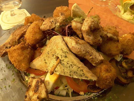 Prum, Germany: Salade Marie !