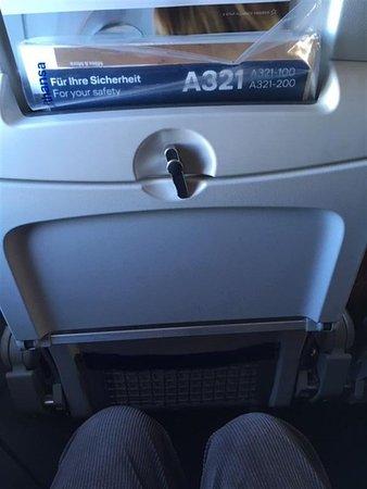Lufthansa : espace so so...
