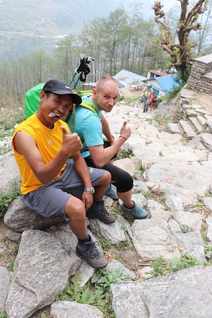 Dal Bhat Power Adventures : One step forward....Sherpa Rinji